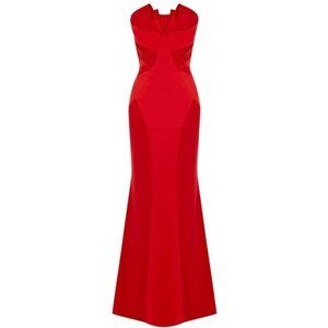 💜COAST💜8 fits 6 RED LONG EVENING GOWN MAXI DRESS